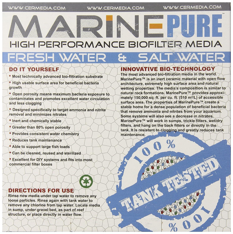 Amazon CerMedia MarinePure Block Bio Filter Media for Marine
