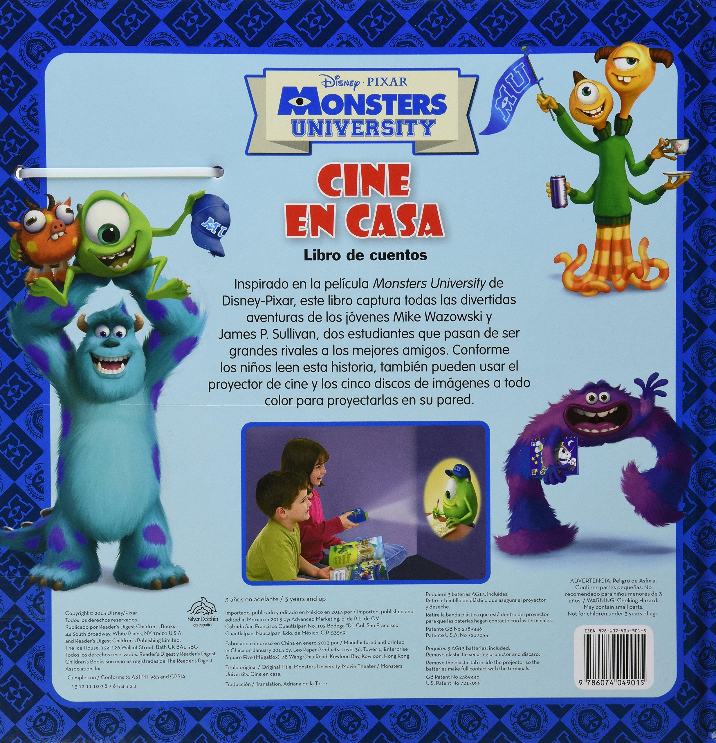Amazon.com: Disney Monsters University / Monsters University ...
