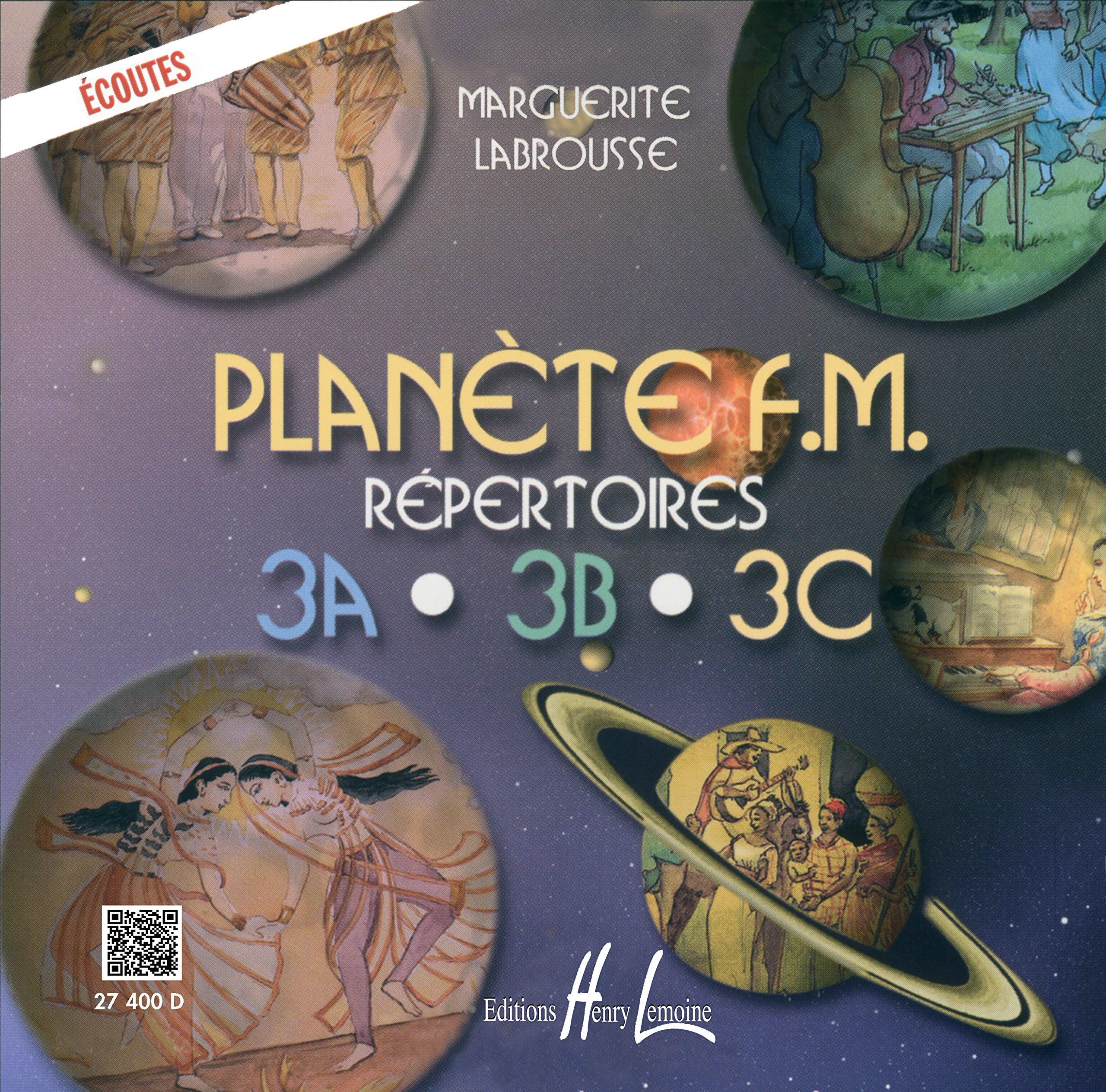 Planète F.M vol Théorie  Marguerite Labrousse  Édition Lemoine 1B Répertoire