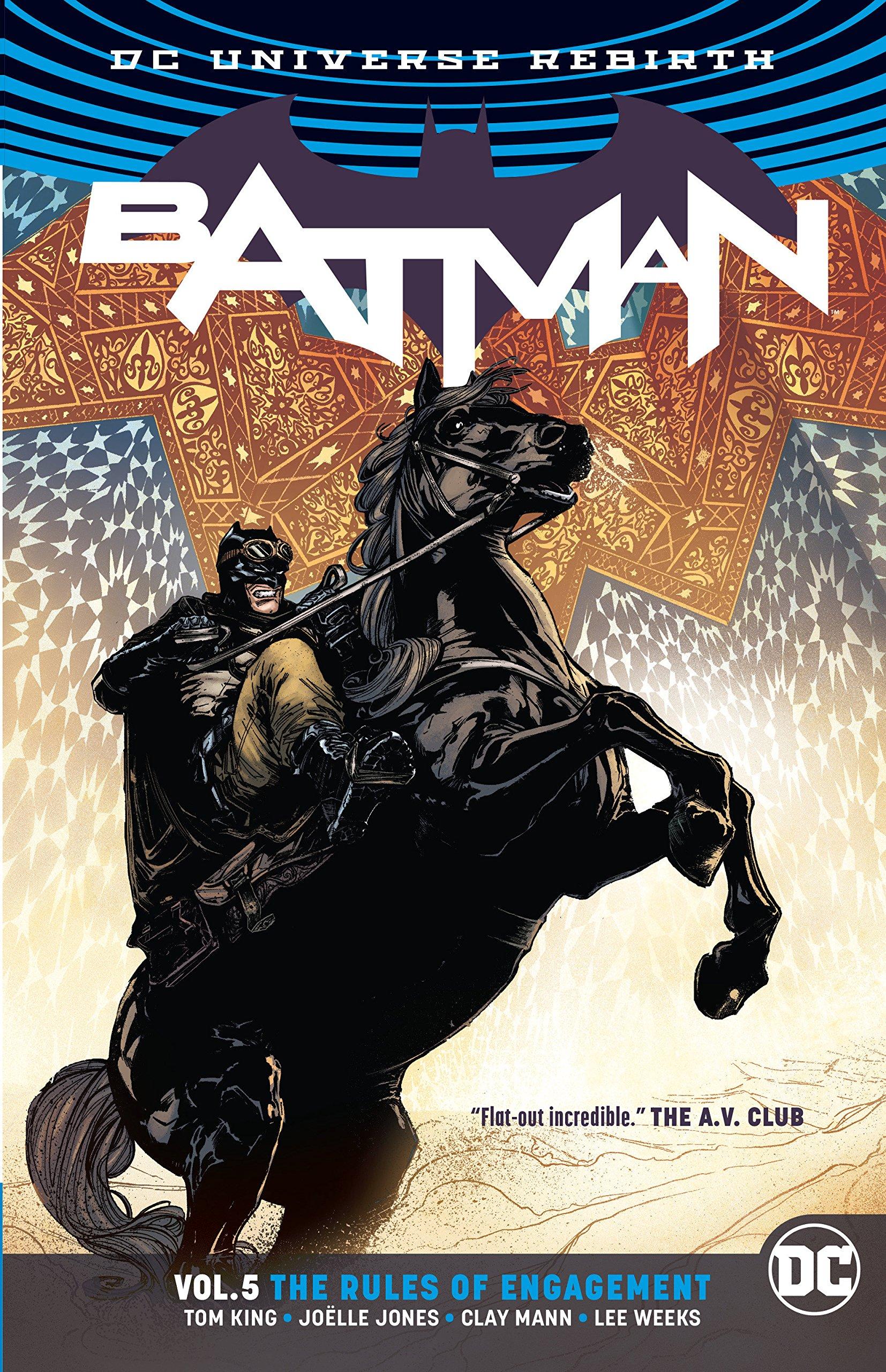 Amazon com: Batman Vol  5: Rules of Engagement (Rebirth