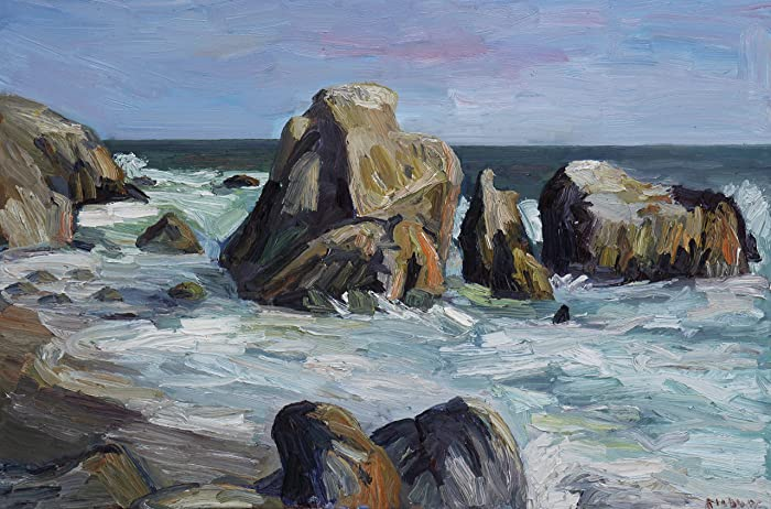 Amazon Com Leo Carrillo Beach Rocks 1 John Kilduff Fine Art