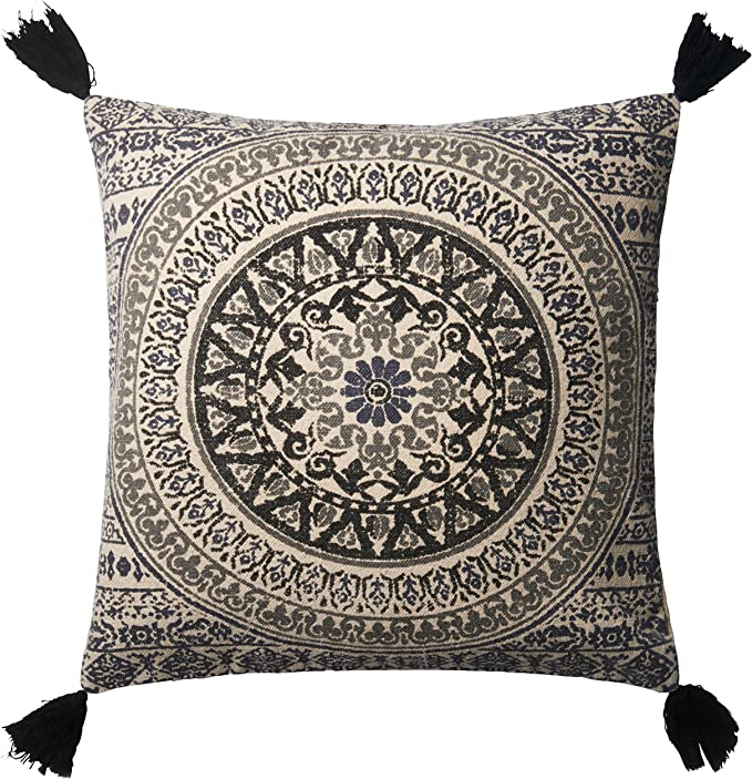 13 x 21 Grey Loloi P0519 Pillow Cover Only//No Fill