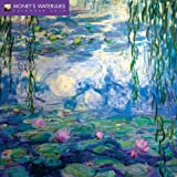 Monet's Waterlilies Wall Calendar 2018 (Art Calendar)