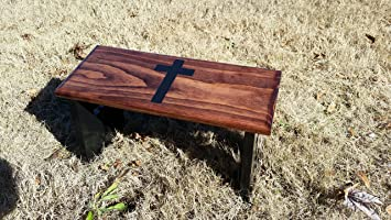 Admirable Amazon Com Hand Crafted Meditation Bench With Hand Painted Cjindustries Chair Design For Home Cjindustriesco