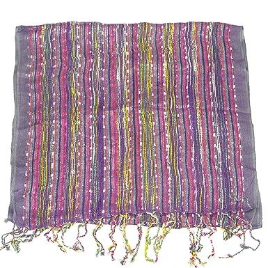 LOVARZI - Bufanda blanca para mujeres - señoras bufanda - perfecto para verano e invierno - moda pashminas: Amazon.es: Ropa y accesorios