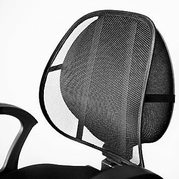 Respaldo lumbar ergonómico, apto para silla Oficina, Hogar y asiento ...
