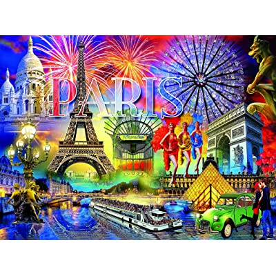 Paris Puzzle - Cities Collection - 1000 Pieces: Toys & Games