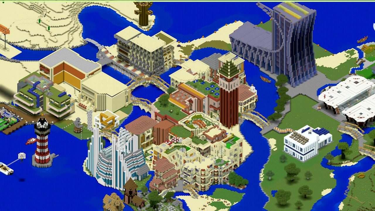 Mapas de Miami Beach para Minecraft