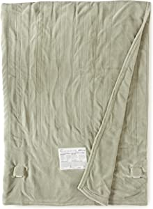 Biddeford 2024-905291-633 Electric Heated Knit MicroPlush Blanket, King, Sage