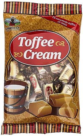 Caramelo Toffe y Nata La Asturiana - Caramelo masticable, con tradicional sabor a toffe y