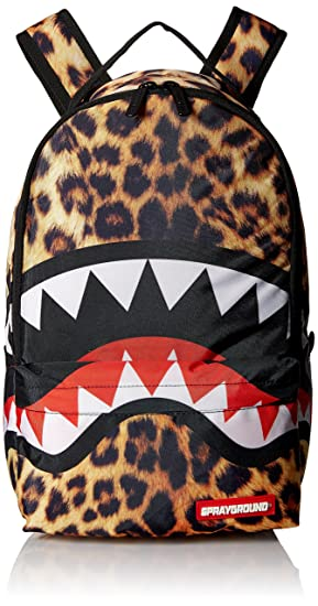 Sprayground Lil Leopard Shark Mini Backpack,