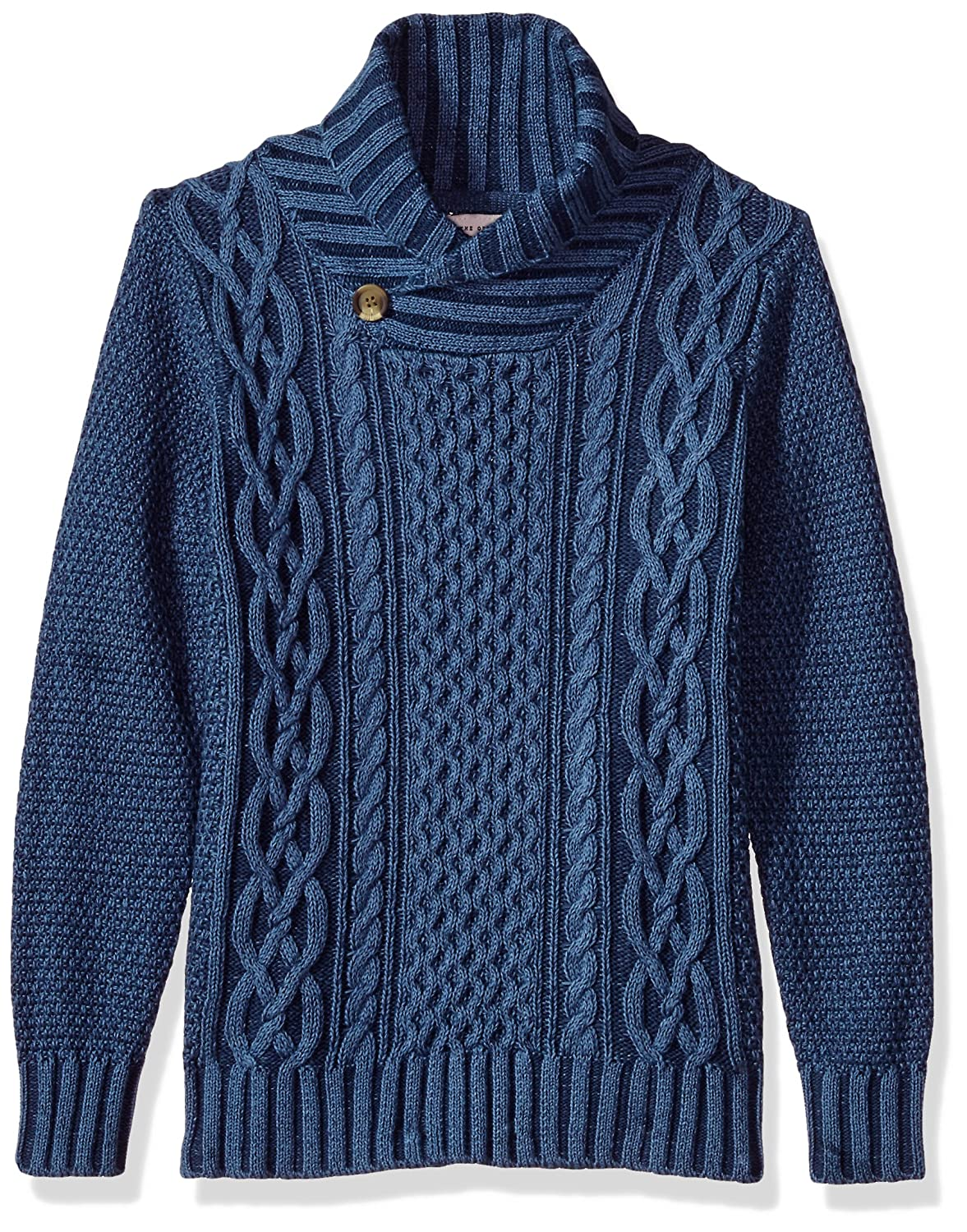 Lucky Brand Boys' Big Shawl Collar Sweater 2542D64082-41-P6
