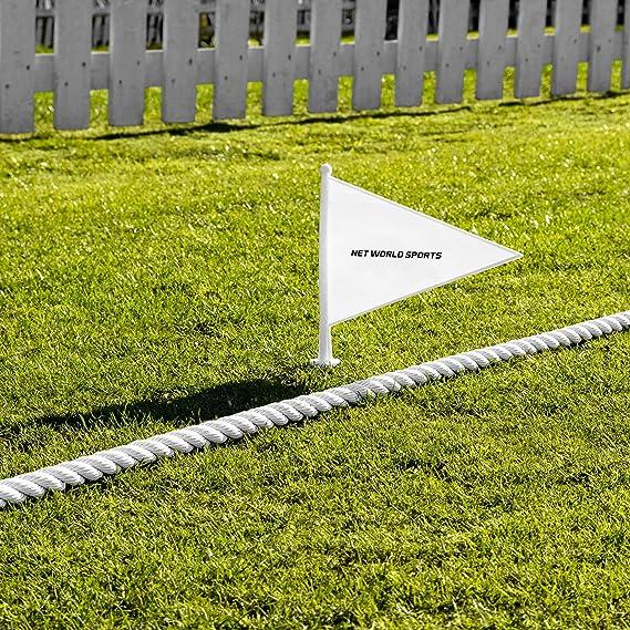 Set of 10 Sports Markers Cricket Boundary Pink Opttiuuq Qvu Plastic flags