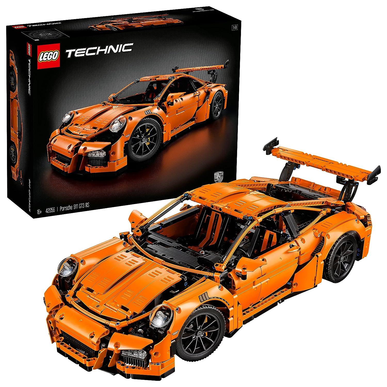 Lego 42056 Technic Porsche 911 Gt3 Rs Super Sports Car Toy Model Collectible Building Set