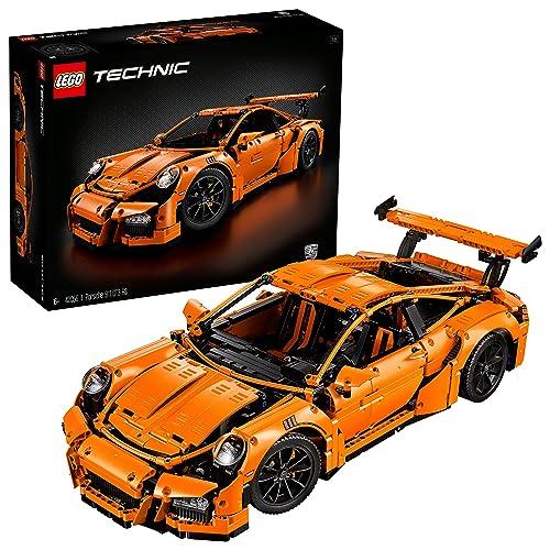 LEGO 42056 Technic Porsche 911 GT3 RS Car Model, Speed Build, Collector's Building Set