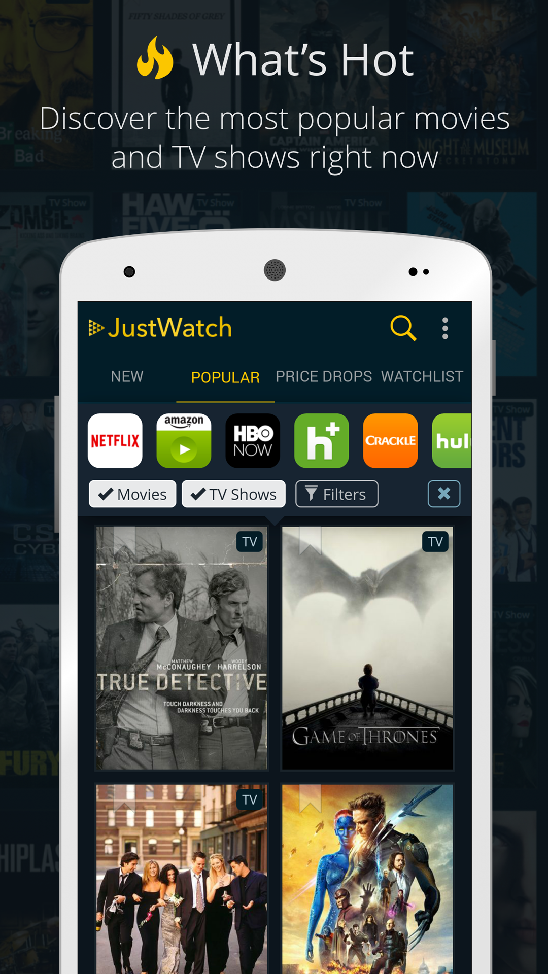 JustWatch - Movie & TV Show Guide