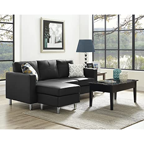 Amazon.com: This Sectional Living Room Set Is a Great Sofa with ...