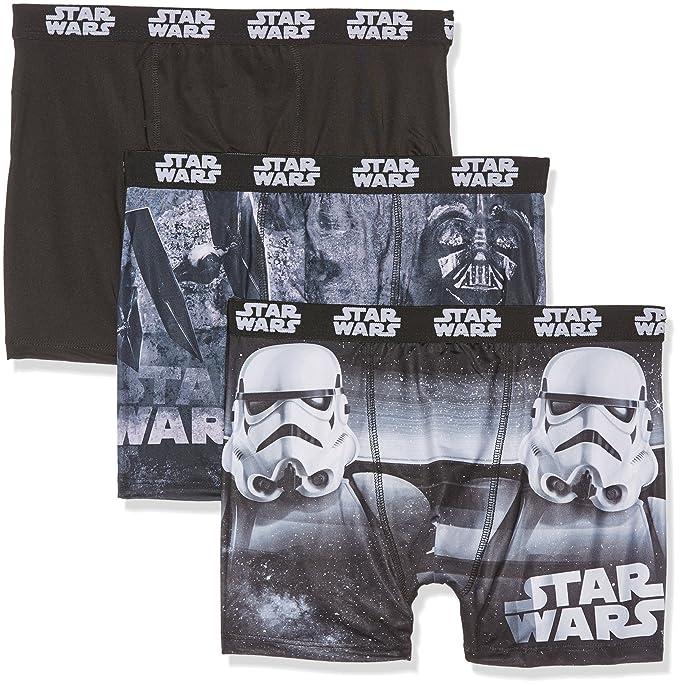 Star Wars SW/AM/1/PK3/B2, Pantalones Cortos para Hombre
