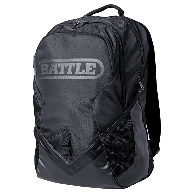Battle Vault Backpack - Black with High Gloss