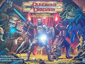 Parker HAS47869 Dungeons & Dragons - Juego de Mesa de Dragones y Mazmorras [Importado de Alemania]: Amazon.es: Juguetes y juegos