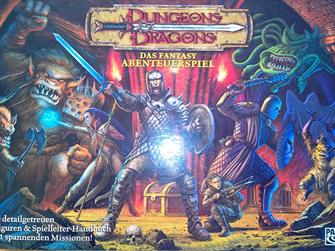 Parker HAS47869 Dungeons & Dragons - Juego de Mesa de Dragones y ...