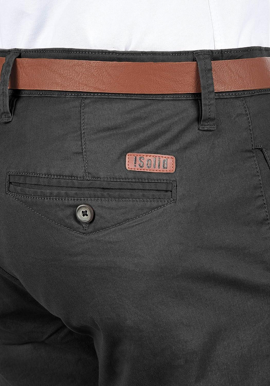 aec75f4a8448 !Solid Machico Pantalon Chino Homme Ceinture Extensible Coupe Régulaire   Amazon.fr  Vêtements et accessoires