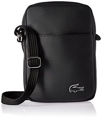 Lacoste Menswear - Lacoste Vertical Camera Bag Black