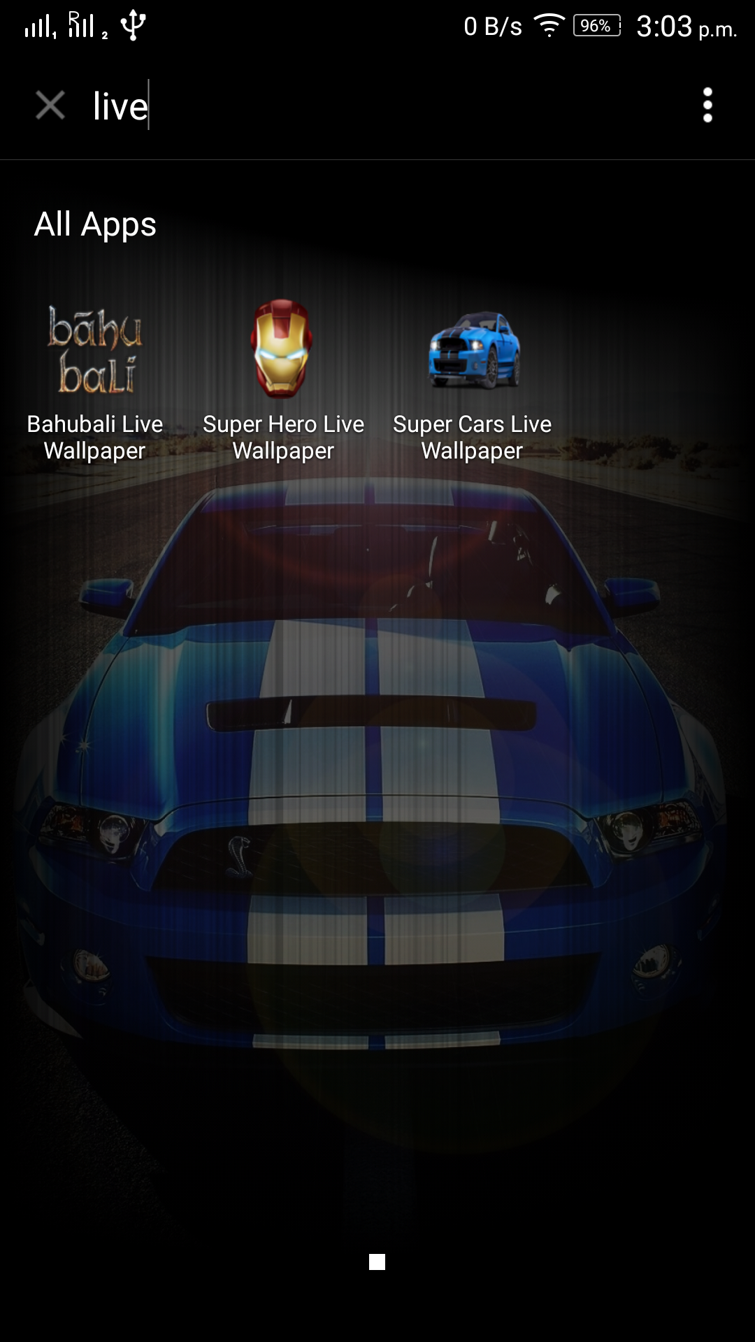 Amazon Com Live Wallpaper Super Car Shelby Appstore For Android