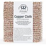 Bürstenhaus Redecker 5.5 x 6.1-inches Copper Cleaning Cloth, Set of 2