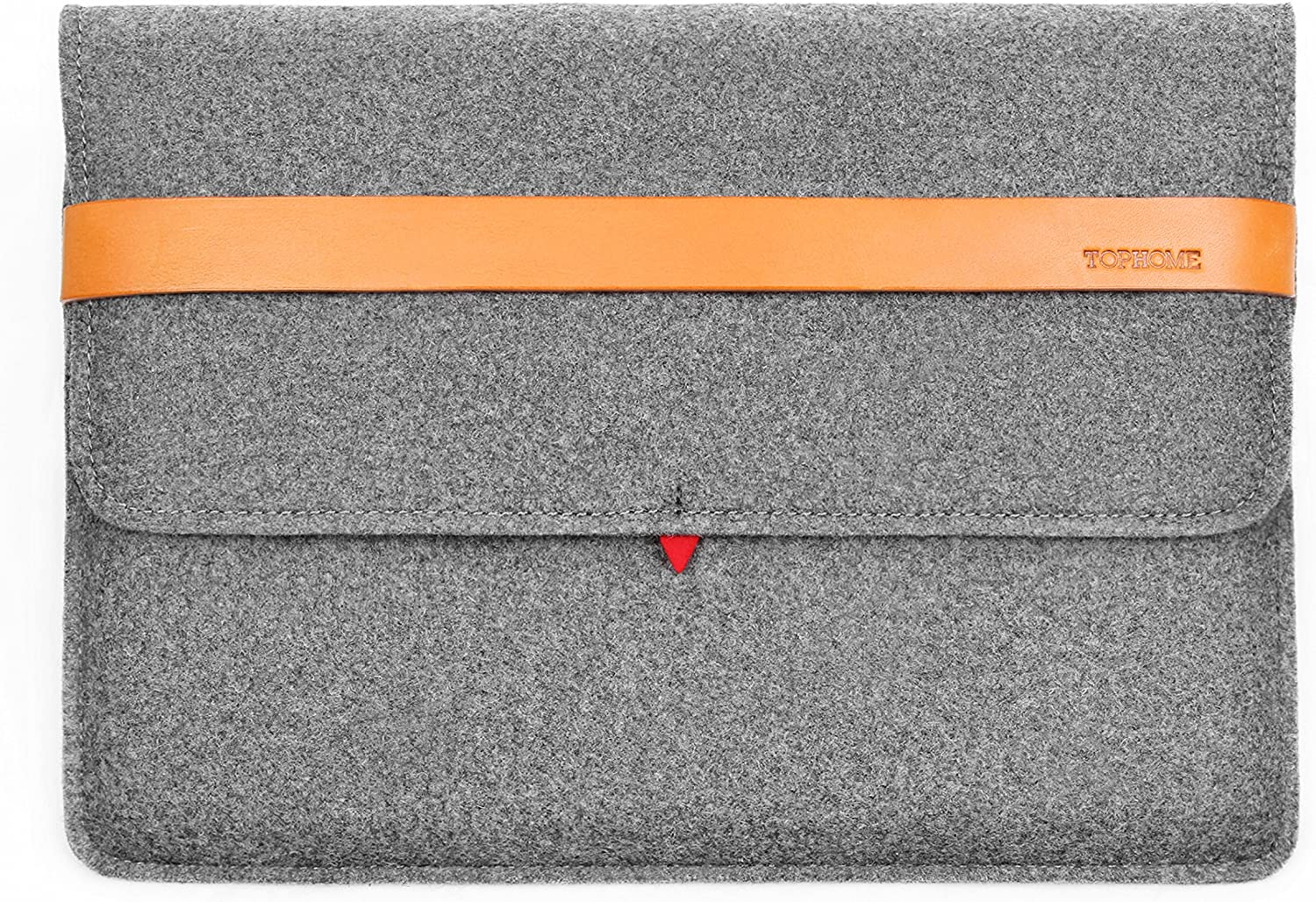 TOPHOME13-13.3 inch Sleeve Case Bag for MacBook Air 13-13.3/Microsoft Surface Book 2/13'' Lenovo/Dell/Toshiba/HP/Huawei/ASUS/Acer, Gray