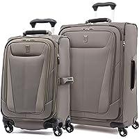 Travelpro Maxlite 5-Softside Expandable Spinner Wheel Luggage, Slate Green, 2-Piece Set (21/25)