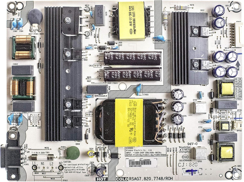 New Original Sharp LC-43P5000U AC Power Cord Replacement