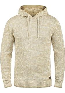Redefined Rebel Maurice Herren Strickpullover Kapuzenpullover Feinstrick  Pullover Mit Kapuze Aus 100% Baumwolle a2ee885704