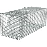 Havahart 1081 Live Animal Professional Style One-Door Large Raccoon, Small Dogs, and Fox Cage Trap-Made in the USA