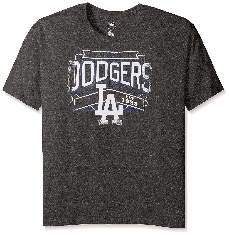 ファッションの MLB Los Angeles MLB DodgersレディースTeam Short B019CO9NES Sleeved画面Tシャツ、3 x、チャコール Angeles/ヘザー B019CO9NES, 吉良町:dddcd1f3 --- a0267596.xsph.ru