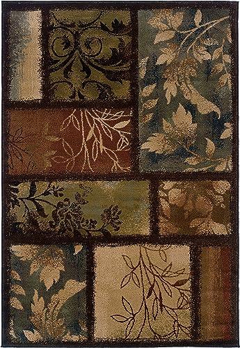Oriental Weavers Hudson 1699G Area Rug, 10 x 13 , Brown