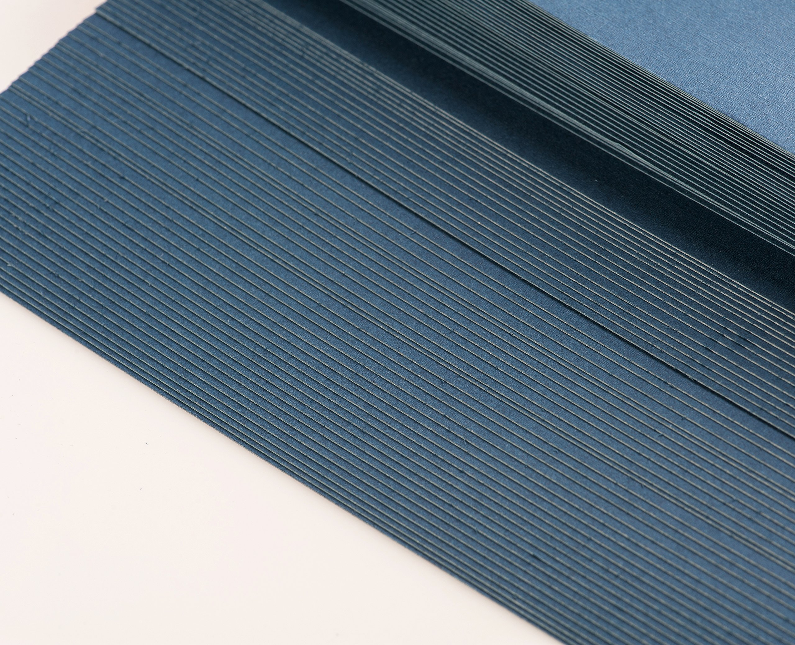 BNC Letter Size Linen Texture Presentation Covers Navy Blue Pack of 100 by BNC Office Supply (Image #4)