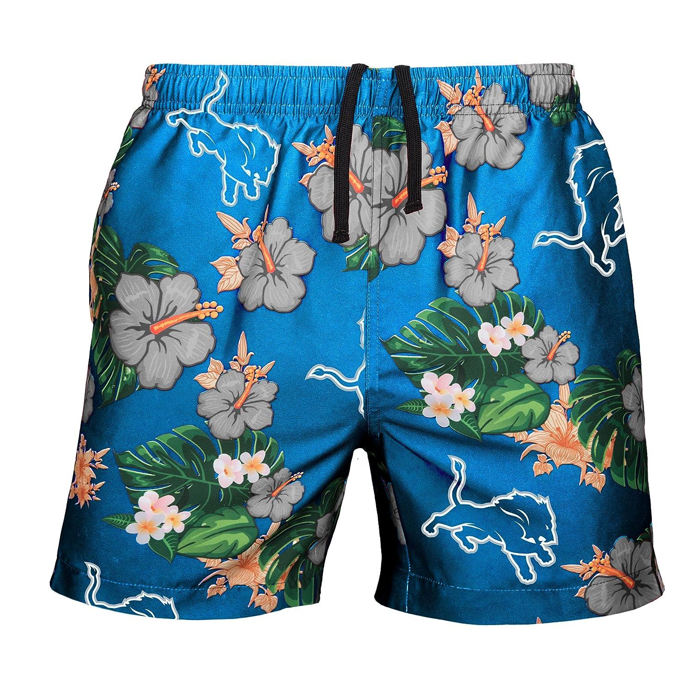 Amazon.com   NFL Mens Team Logo Floral Hawaiin Swim Suit Trunks   Sports    Outdoors 054f284e9