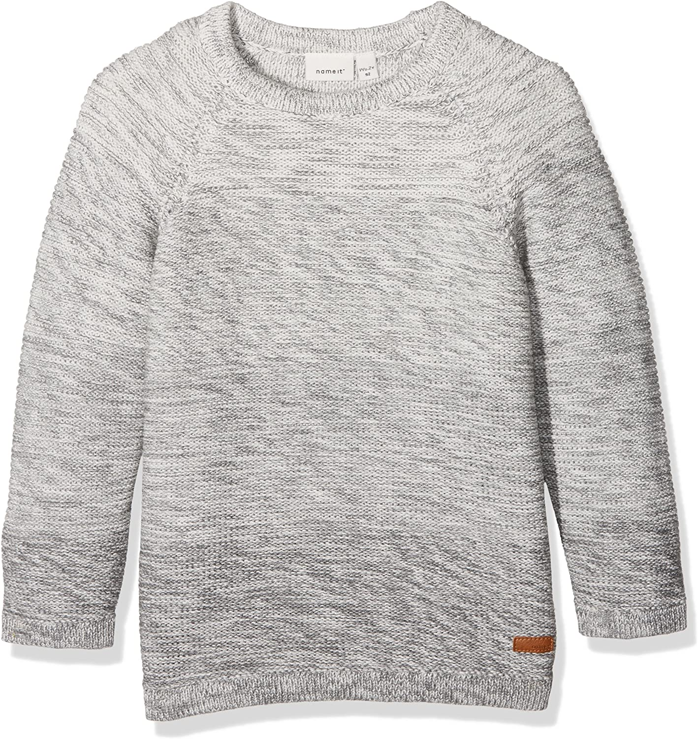 NAME IT Baby-Jungen Nitfinal Ls Knit M Mini Pullover