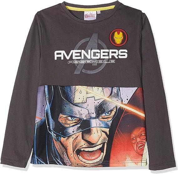 Marvel Avengers Classic Camiseta para Niños: Amazon.es: Ropa y ...