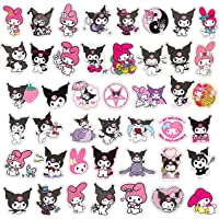 50PCS Cute Kawaii Cartoon Kuromi Melody Sanrio Graffiti Stickers DIY Motorcycle Luggage Guitar Skateboard Cool Stickers…