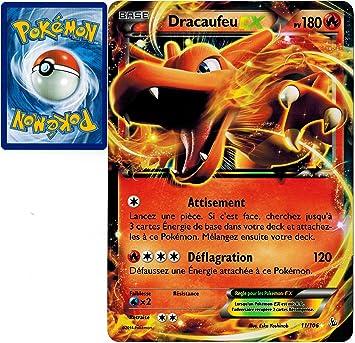 carte pokemon dracaufeu ex Pokemon Company International carte Pokémon 11/106 Dracaufeu EX