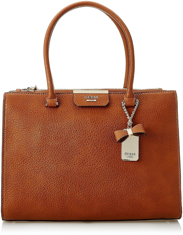 elegantní ve stylu nejlepší boty stále populární GUESS Ryann Society Carryall COG, Cognac: Amazon.in ...