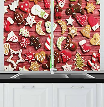 Gingerbread Kitchen Curtains Best Decorating Ideas