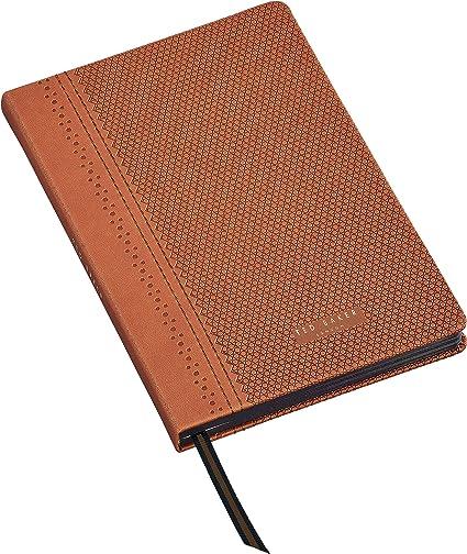 Ted Baker Cognac Brogue A5 - Cuaderno (tamaño A5), diseño de coñac: Amazon.es: Oficina y papelería