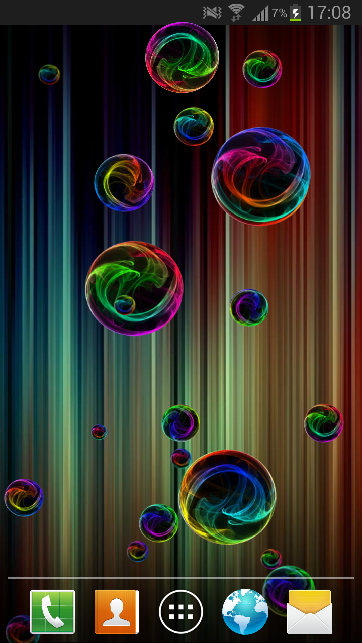 Amazon.com: Deluxe Bubble Live Wallpaper: Appstore for Android