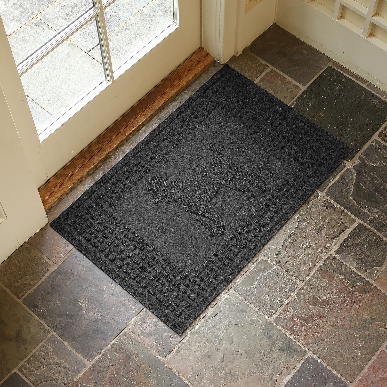 Aqua Shield Poodle Mat, Charcoal, 2  x 3