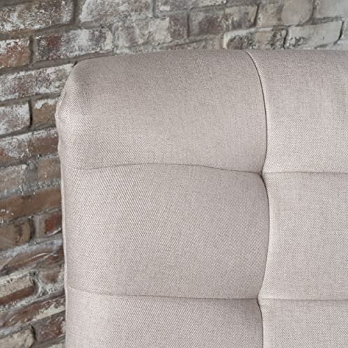 Christopher Knight Home Temescal Living Room Mid Century Modern Arm Club Chair Wheat
