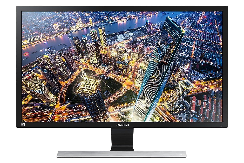 "Samsung U28E590D Monitor 4K Ultra HD, 28"", Basic, UHD, 3840 x 2160, 60 Hz, 1 ms, 2 HDMI, Display Port, Nero"