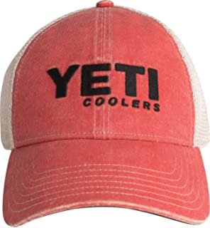 60fa271f24e83 Amazon.com  YETI Traditional Trucker Hat Olive Green  Sports   Outdoors